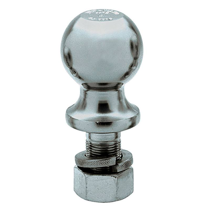 Reese Chrome Plated Steel Standard Trailer Hitch Ball - 8""
