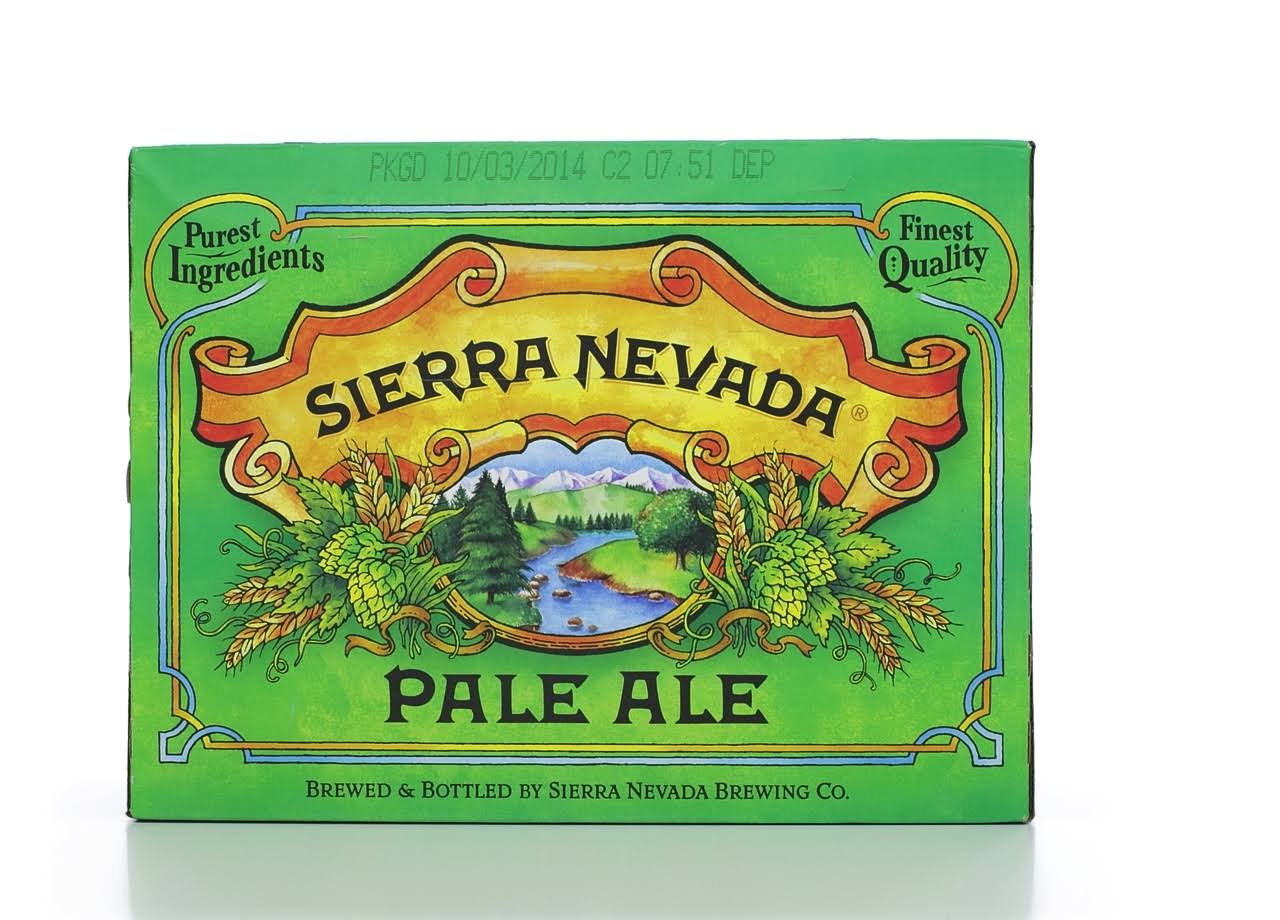 Sierra Nevada Pale Ale Beer - 12 oz, 12 pack