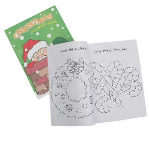 "11"" Christmas Coloring Books"