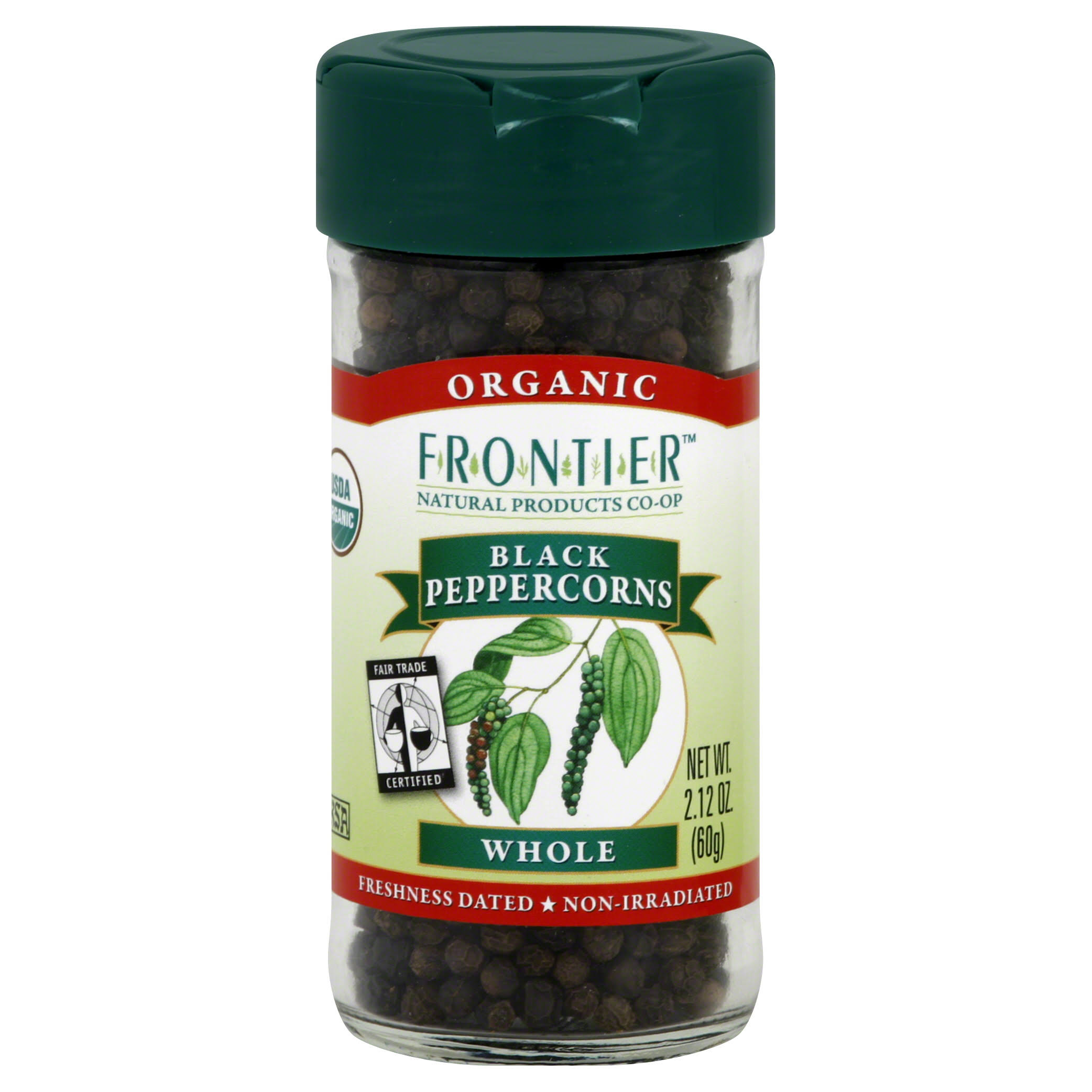 Frontier Black Peppercorns - Whole