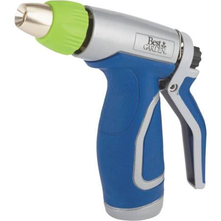 Best Garden Metal Pistol Nozzle - With Comfort Grip