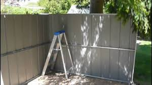 Rubbermaid Large Storage Shed Instructions by Another Craigslist Find A Free 10 U0027 X 8 U0027 Garden Shed Youtube