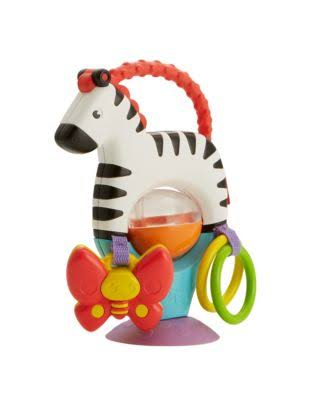 Giw Mattel Activity Zebra Toy