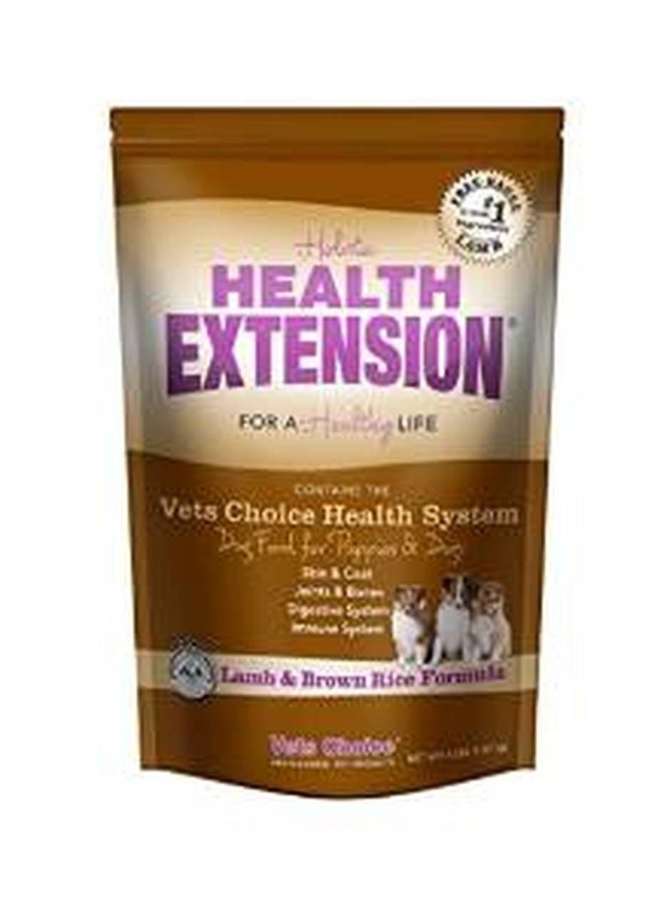 Vets Choice Health Extension Dry Dog Food - Lamb & Brown Rice