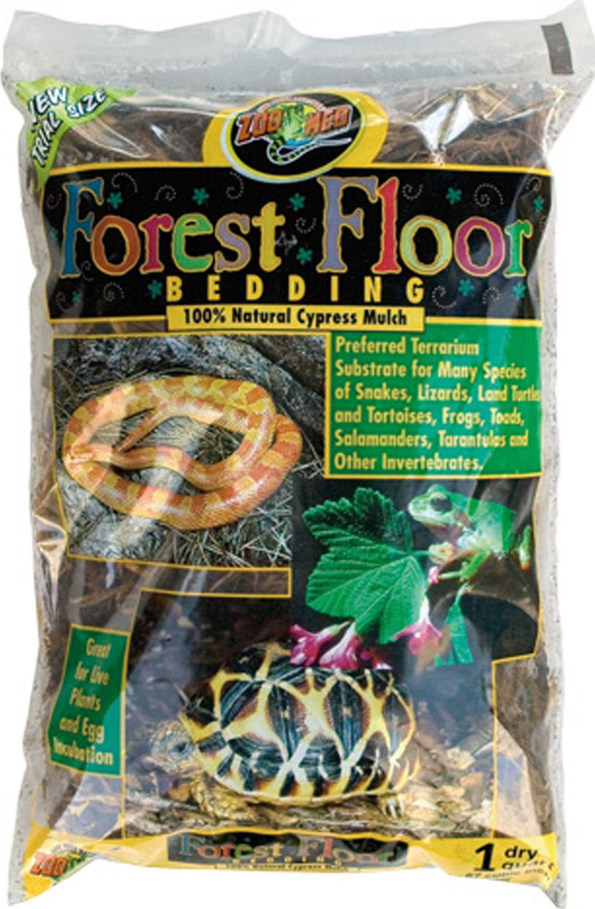 Zoo Med Forest Floor Bedding Reptile Substrate - 8 Quarts