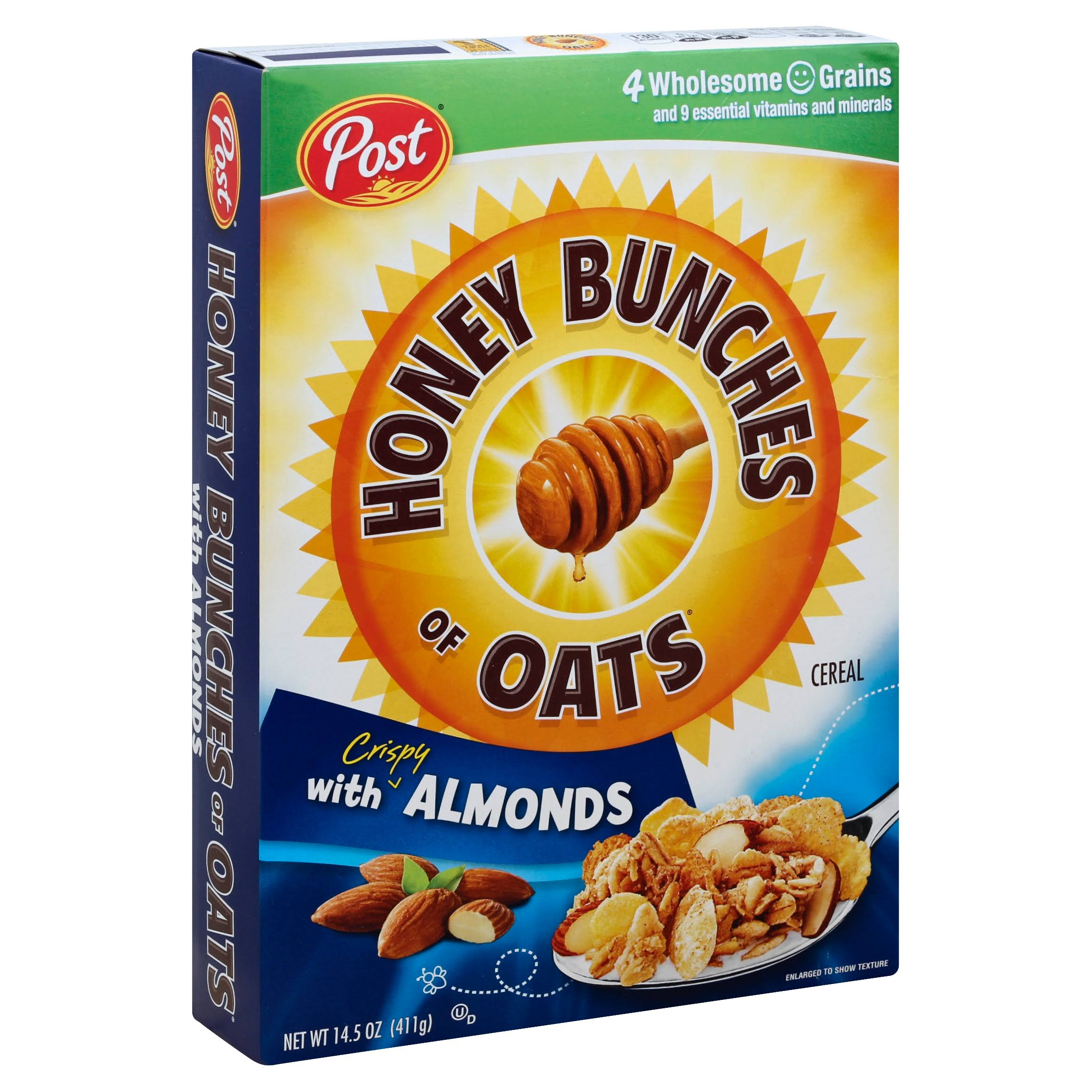 Post Honey Bunches of Oats With Crispy Almonds Cereal - 14.5oz