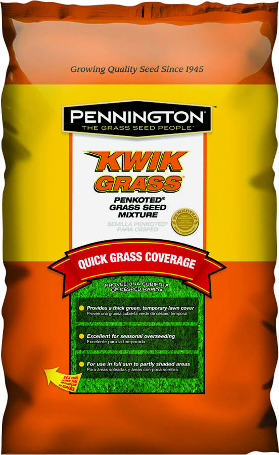 Pennington 100086246 Grass Seed - Medium Green, 3lbs