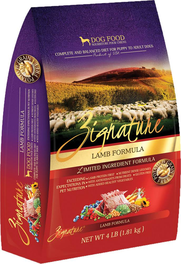 Zignature Dog Food - Lamb