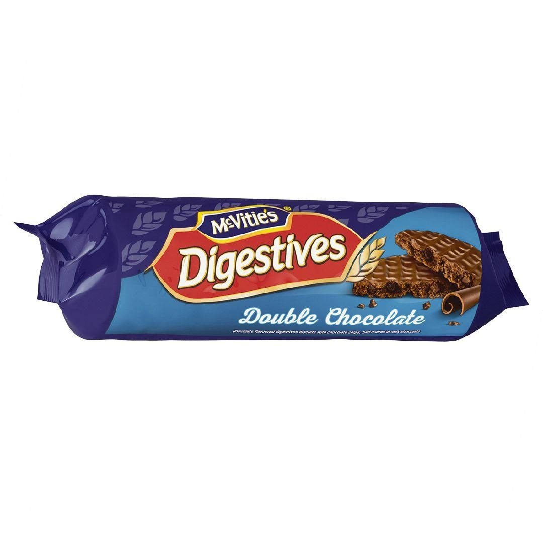 McVitie's Digestives - Double Chocolate, 267g