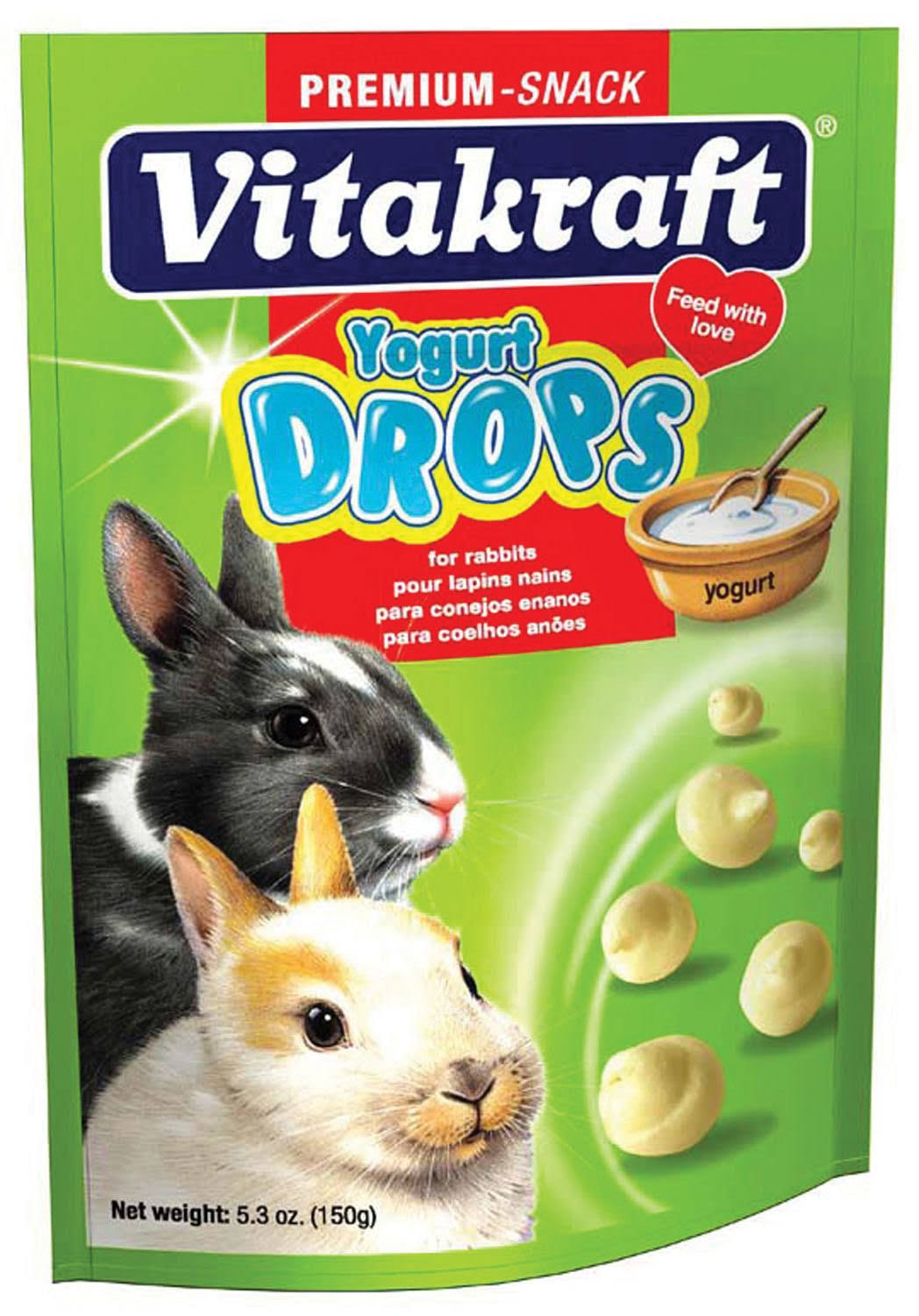Vitakraft Pet Products Drops - Yogurt