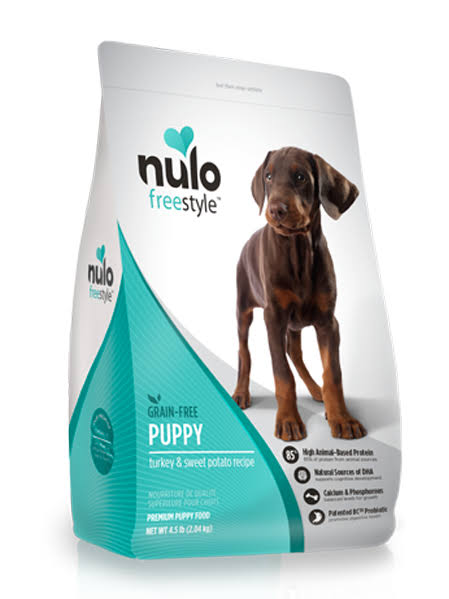 Nulo FreeStyle Grain Free Dry Puppy Food - Turkey & Sweet Potato, 11lb