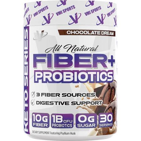 VMI Sports All Natural Fiber + Probiotics (Chocolate Dream 30 Servings)