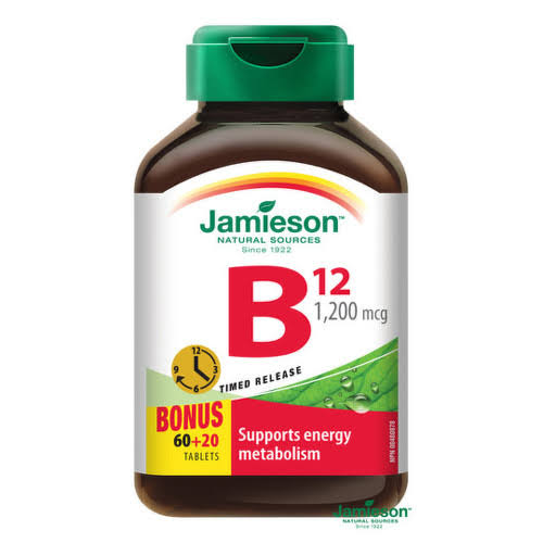 Jamieson B 12 Dietary Supplement - 1200mcg