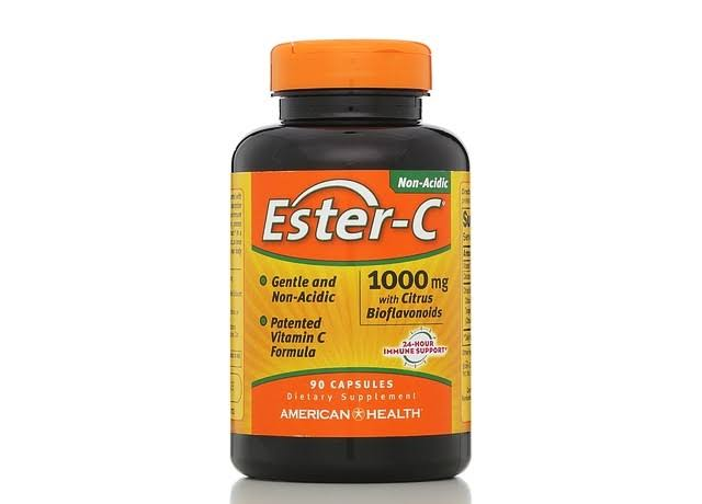 American Health Ester-C with Citrus Bioflavonoids Dietary Supplement - 90 Capsules
