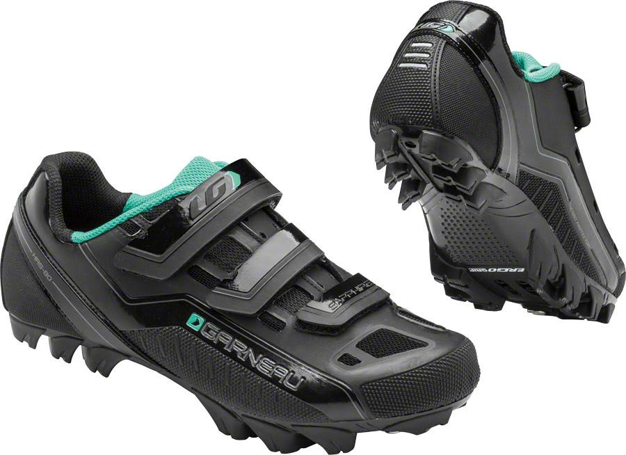 Louis Garneau Women's Sapphire Cycling Shoes - Black, 41 EU
