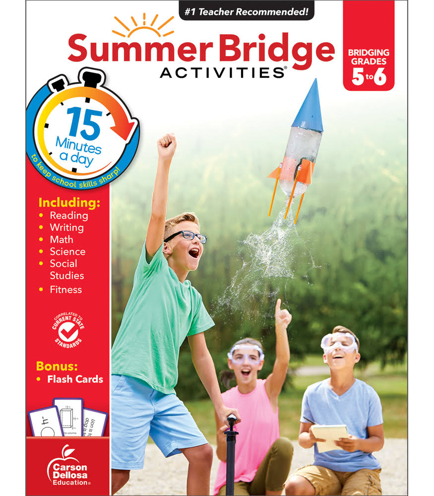 Summer Bridge Activities: Bridging Grades 5-6 - Summer Bridge Activities