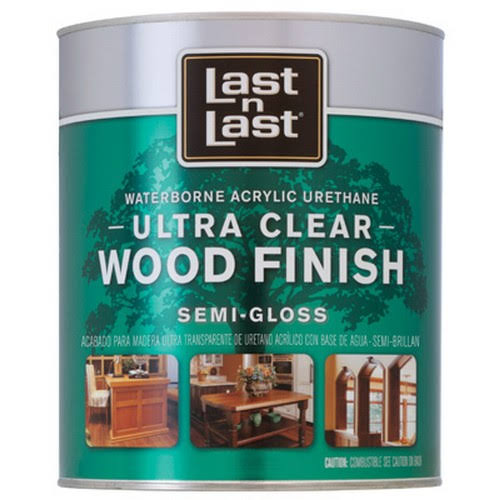 Absolute Coatings Wood Finish Varnish - Semi Gloss, 1qt