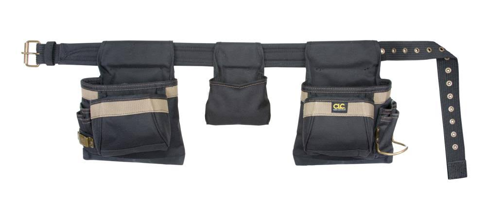 Custom Leathercraft - Combo Apron Tool Belt, Poly 4 Piece 11