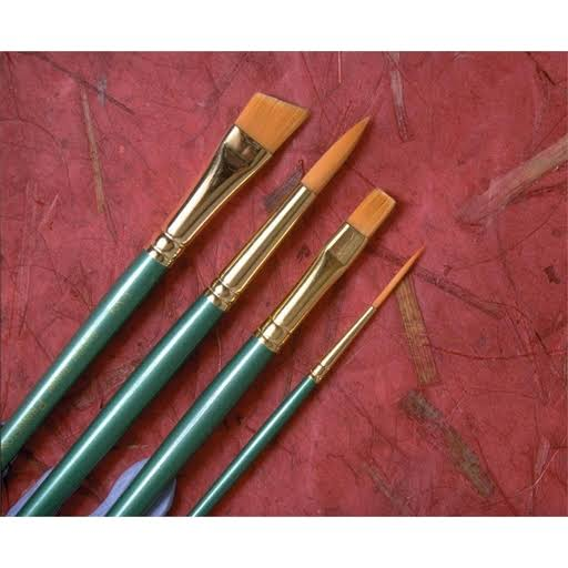Princeton Watercolor Round Brush Size: 5/0