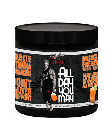 Rich Piana 5% Nutrition All Day You May BCAA - 465g