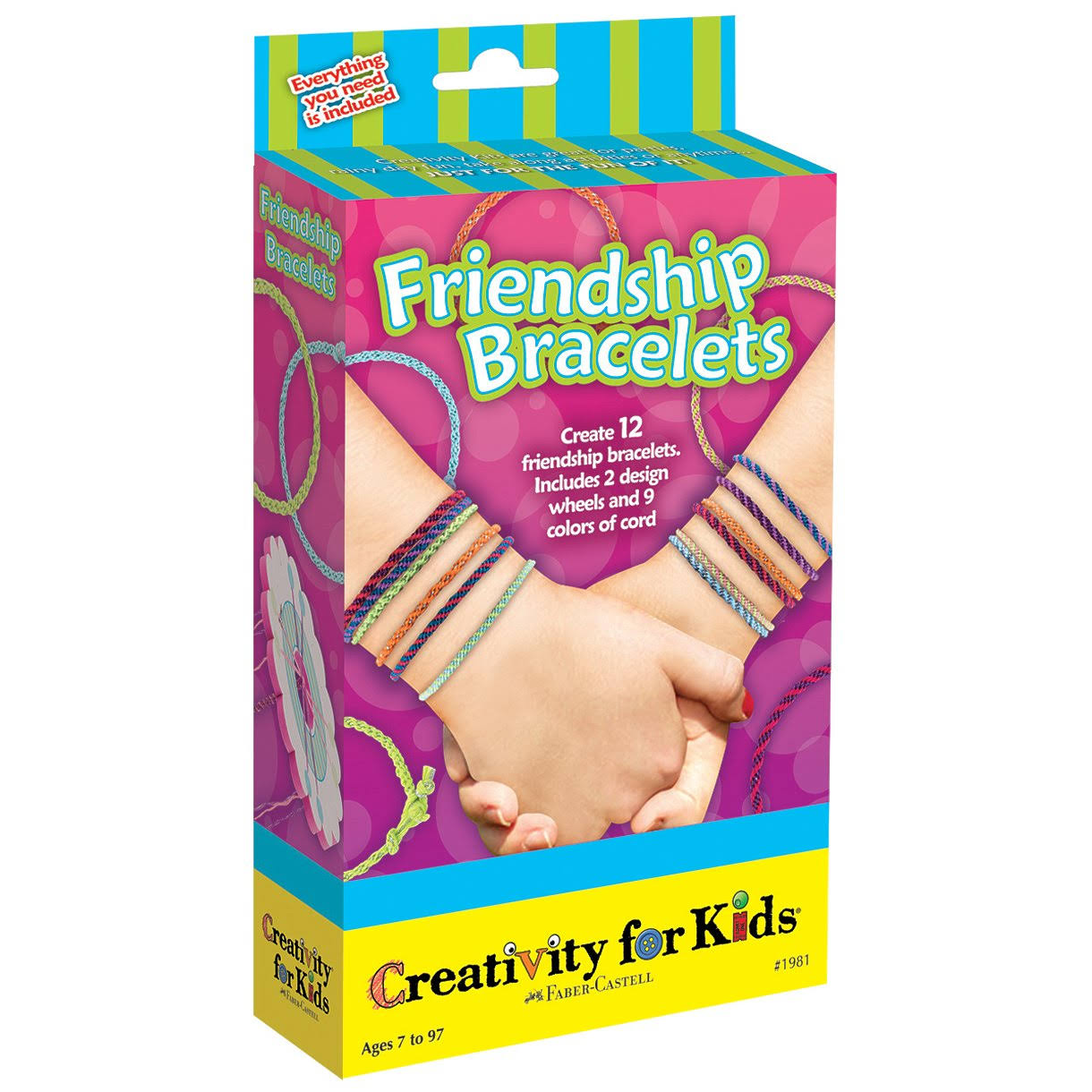 Creativity for Kids Friendship Bracelets Kit
