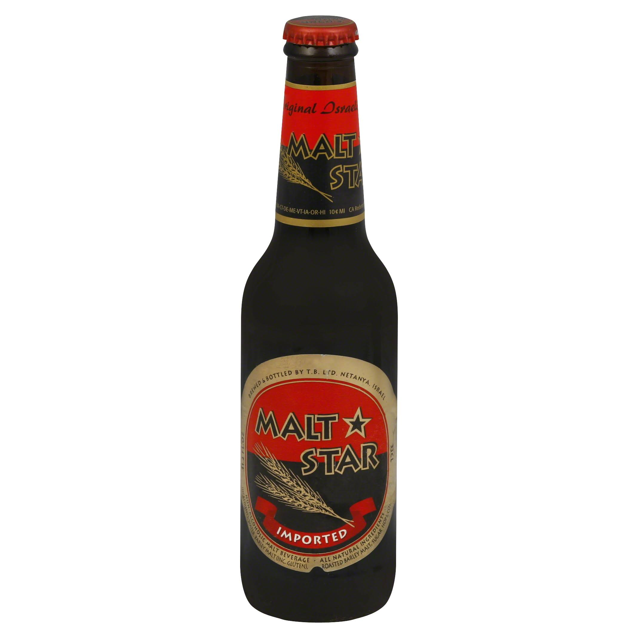 Malt Star Beer - 12oz