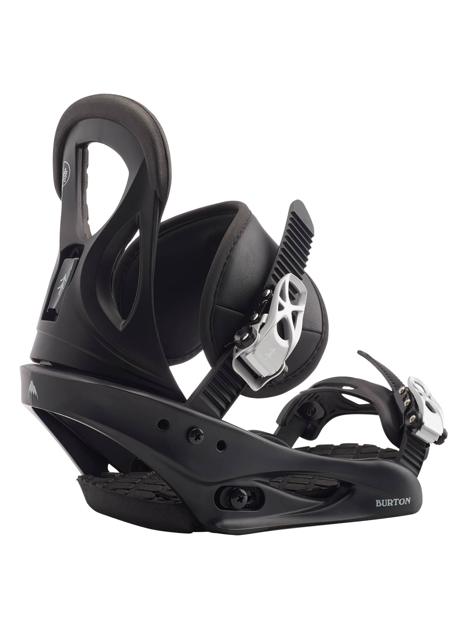 Burton Citizen Snowboard Bindings Women's, Black, M