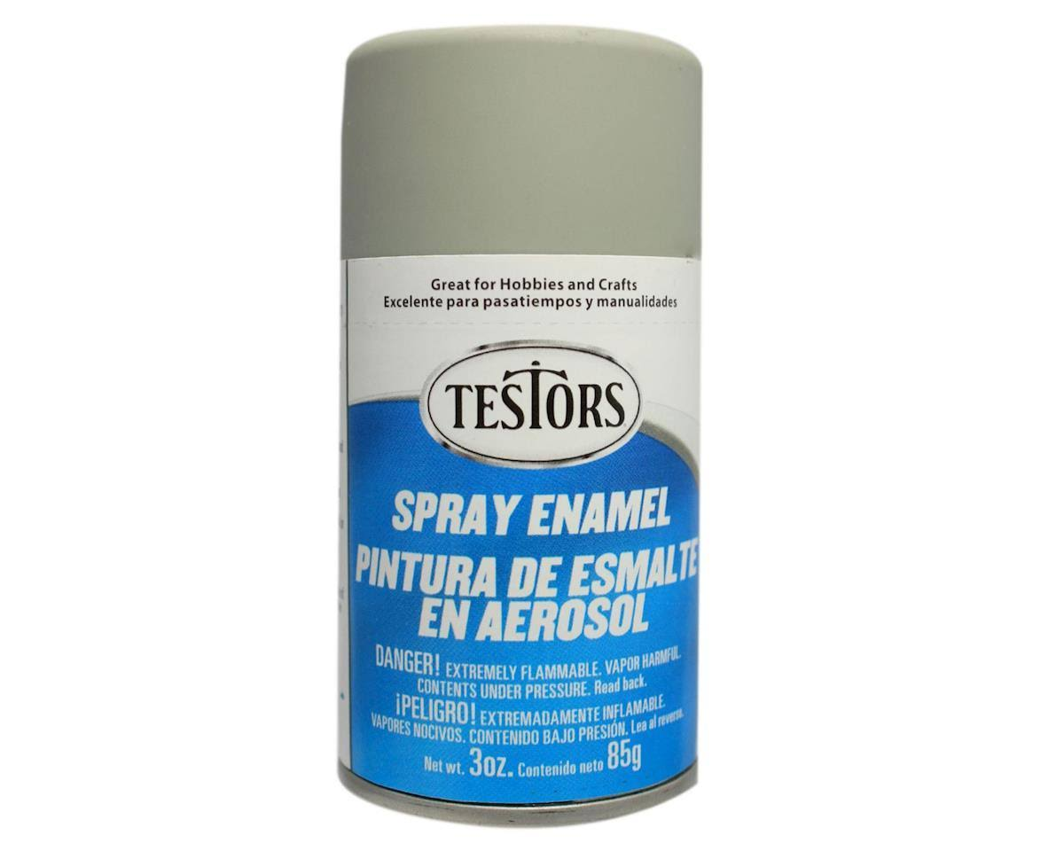 Testors - 1226T Spray Dark Aircraft Gray 3 oz. Enamel Paint