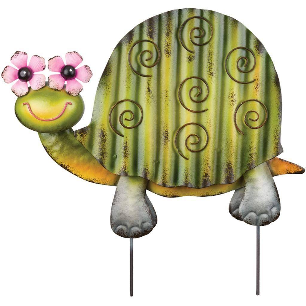 Regal Art & Gift 12115 - Green Turtle Groovy Garden Stake Decor