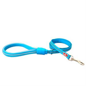 Wigzi Waterproof Gel Dog Leash, Blue