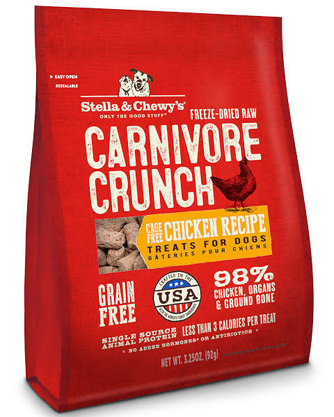 Stella and Chewy's Carnivore Crunch Dog Food - Chicken, 4oz