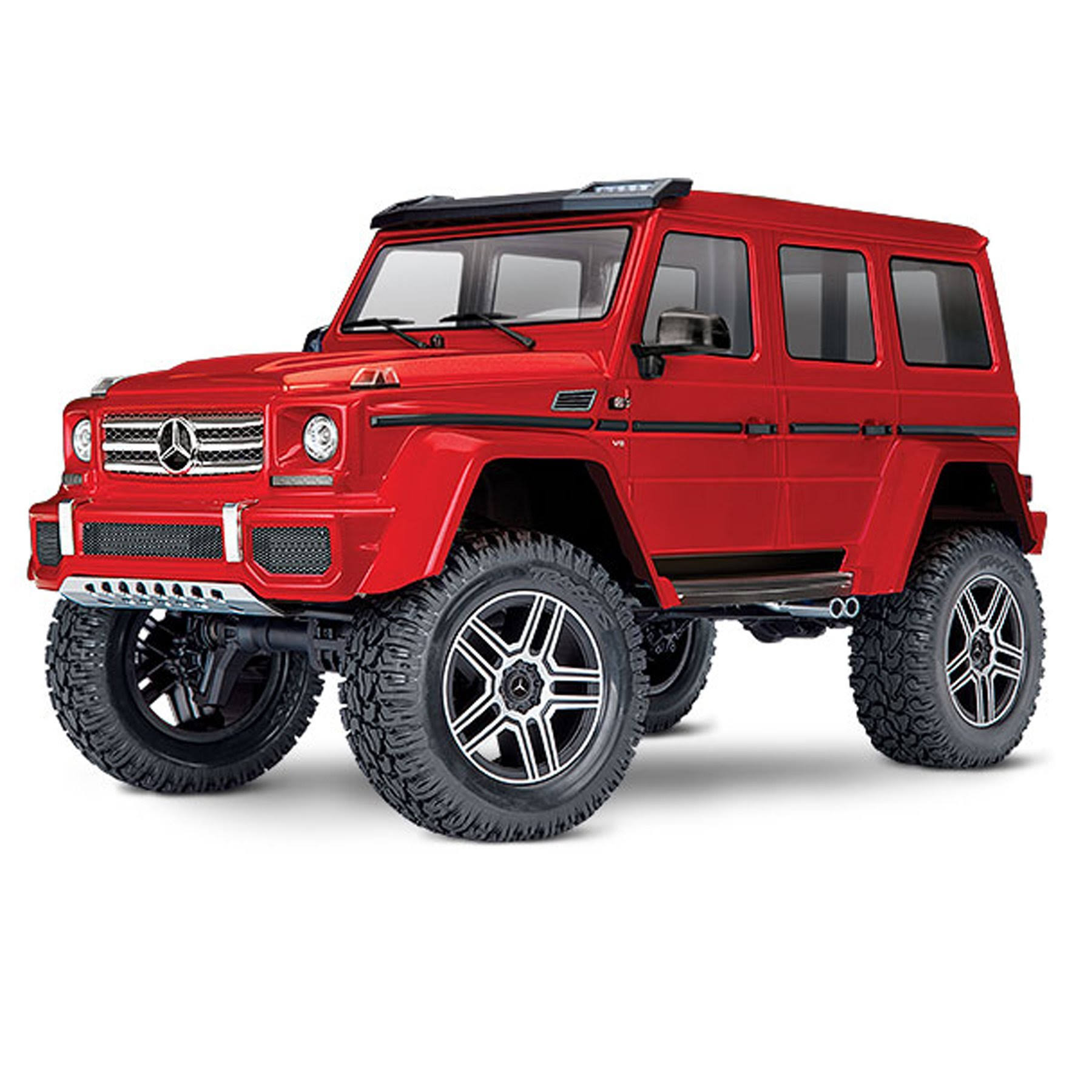 Traxxas 82096-4 TRX-4 Trail Crawler Mercedes-Benz G500 4X4 Model Kit - Red