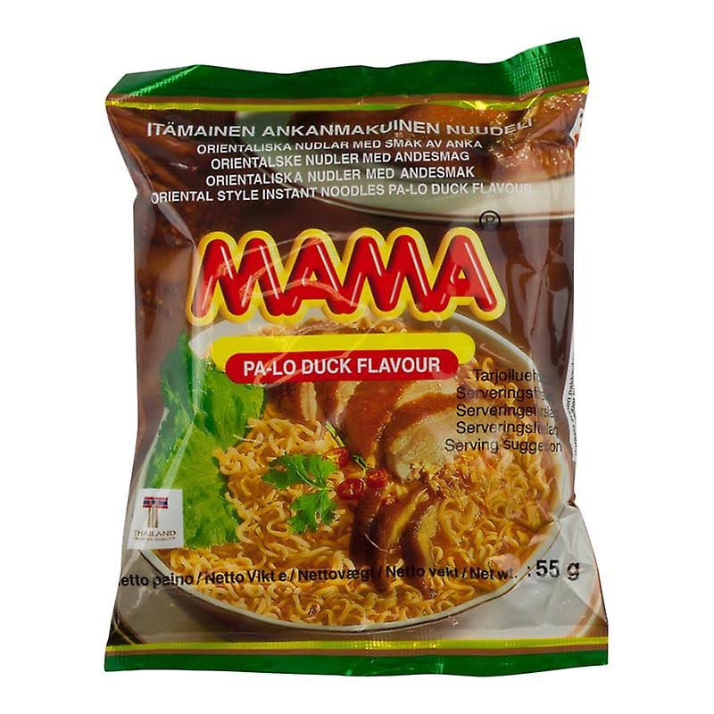 Mama Oriental Instant Noodle Soup - with Duck Flavor, 55g