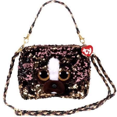 Ty Fashion Flippy Sequin Purse - Brutus The Dog (8 inch)