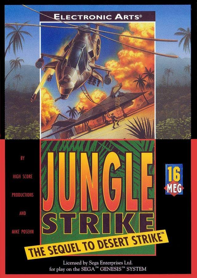 Jungle Strike [Sega Genesis]