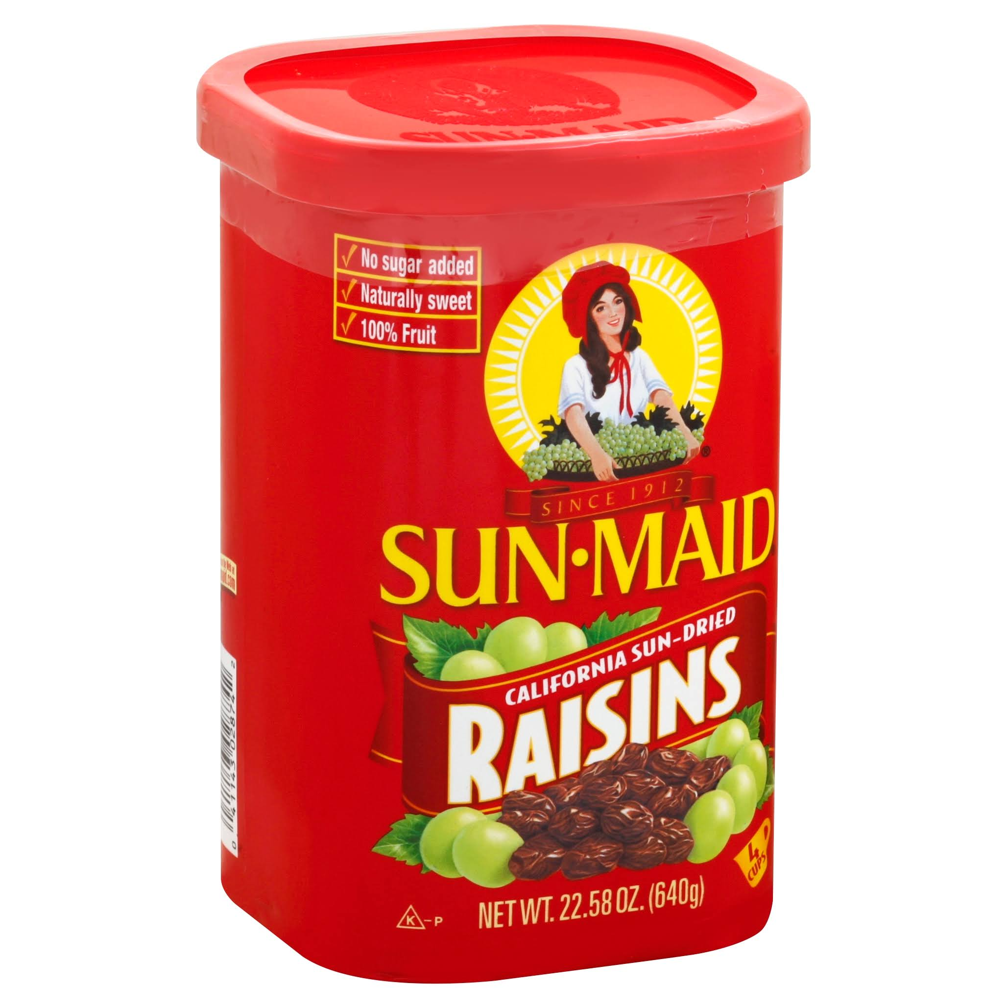 Sun-Maid Raisins - Brown, 22.58oz