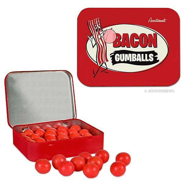 Accoutrements Gumballs - 22 Pieces, Bacon