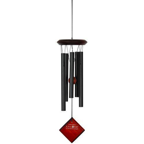 Woodstock Encore Collection Mars Wind Chime - Black, 17""