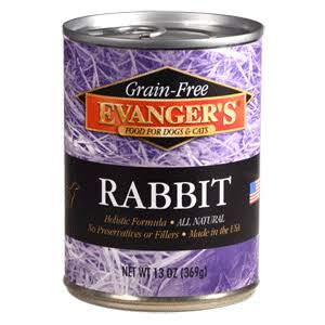Evanger's Grain Free Rabbit Dog & Cat Canned Food