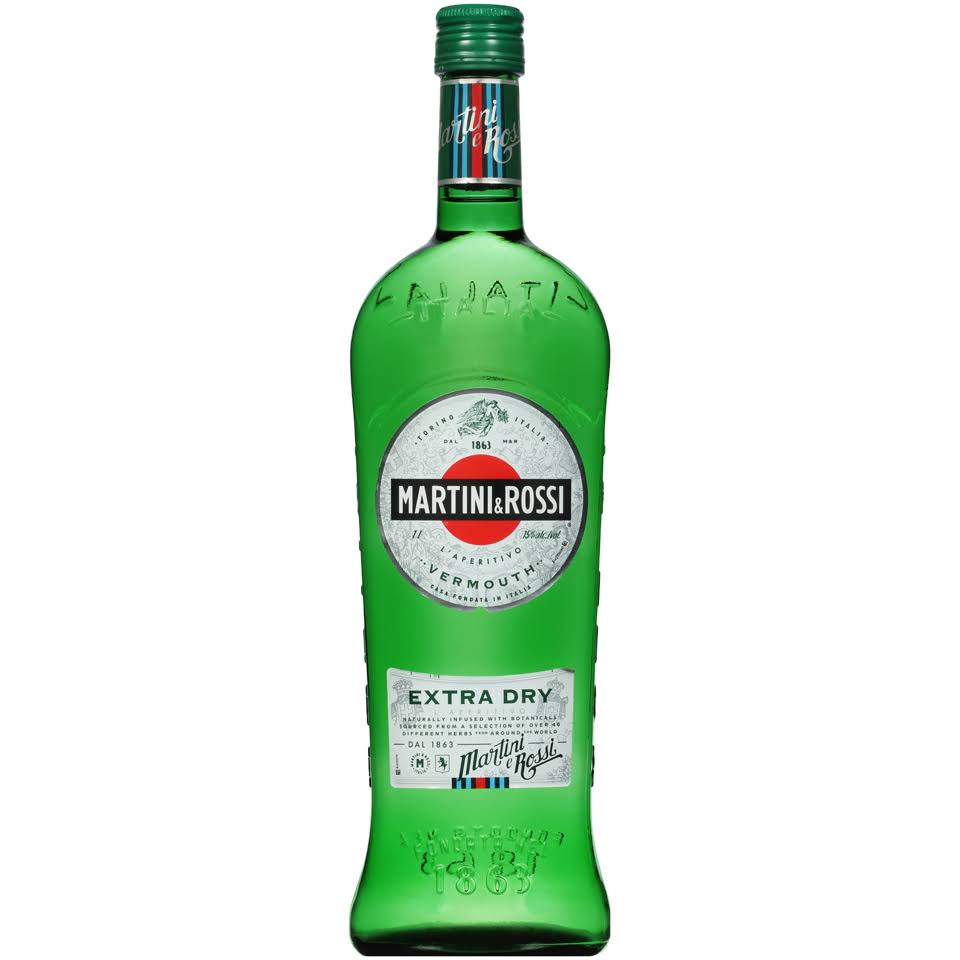 Martini & Rossi Extra Dry Vermouth - 1 L bottle