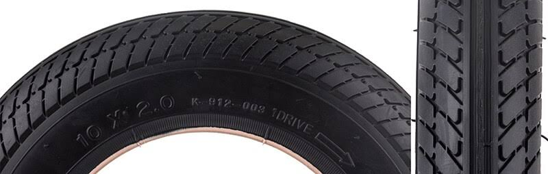 Sunlite 10x2 Scooter Tire Black