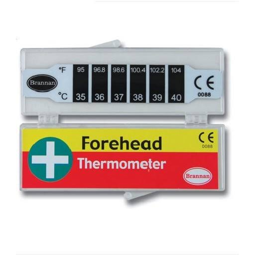 Brannan Forehead Strip Thermometer