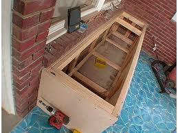 how to build a storage bench how tos diy