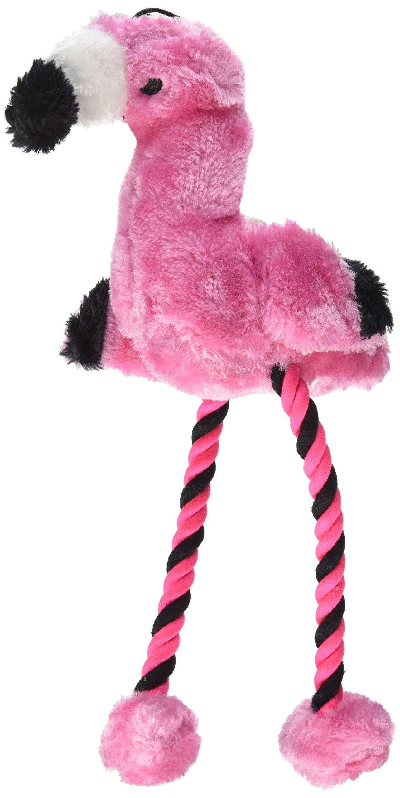Great China Long Legs Flamingo Plush Chew Toy - 16 Chew Toy