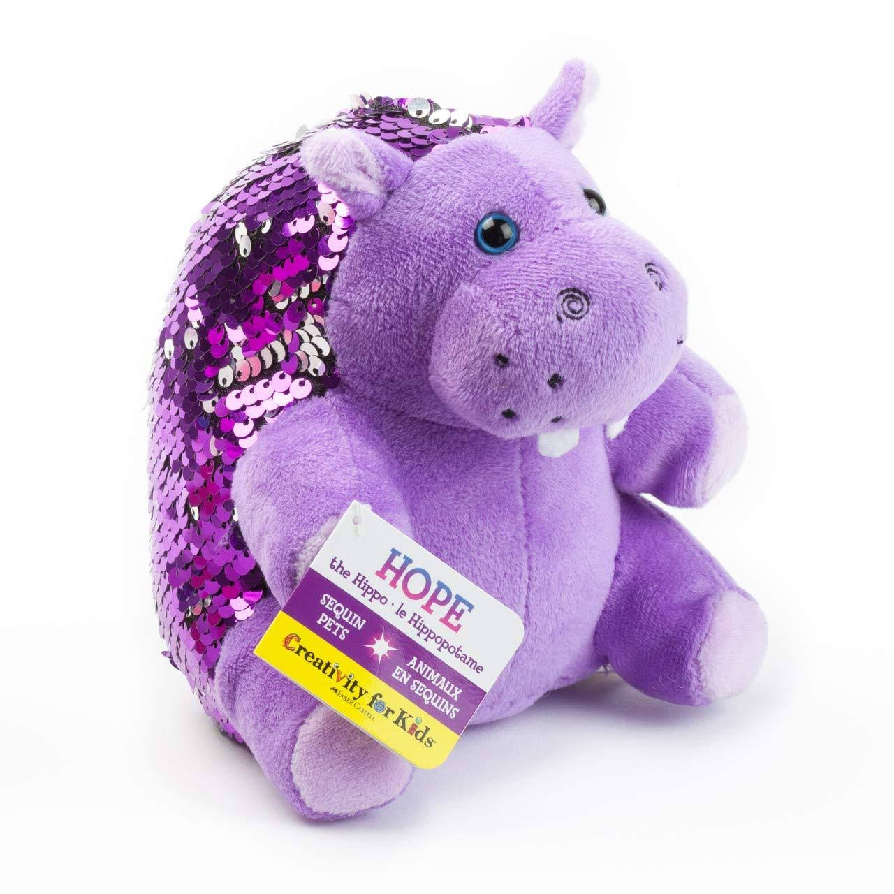 Creativity for Kids Mini Sequin Pets: Hope The Hippo