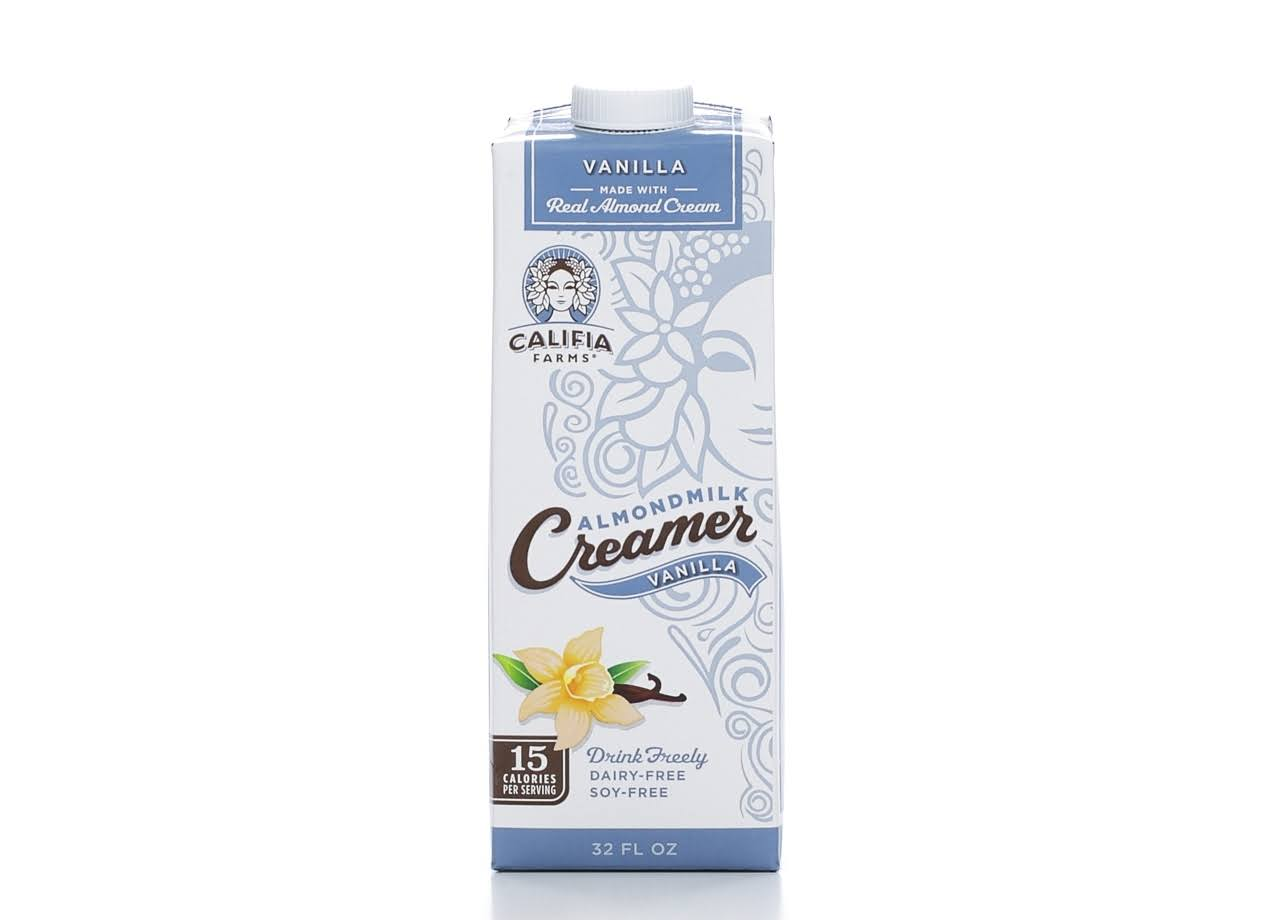 Califia Farms Vanilla Almond Milk Creamer - 32oz