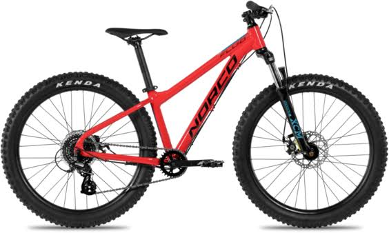 Norco Fluid HT 4.3 Plus Cycling Bike - Red