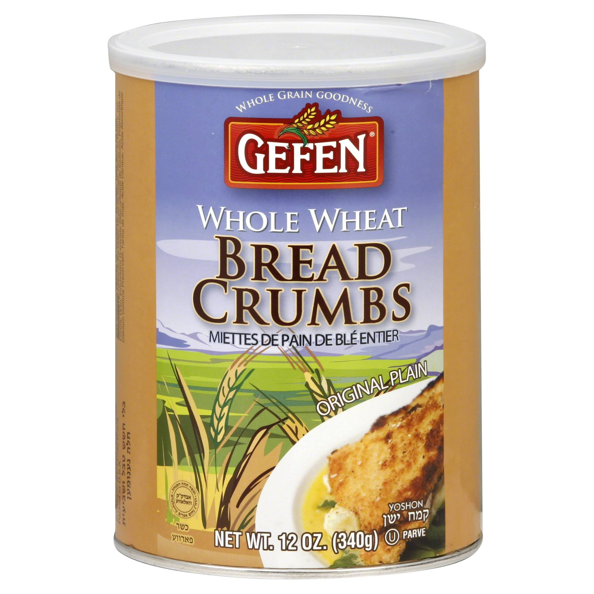 Gefen Whole Wheat Bread Crumbs - 12oz