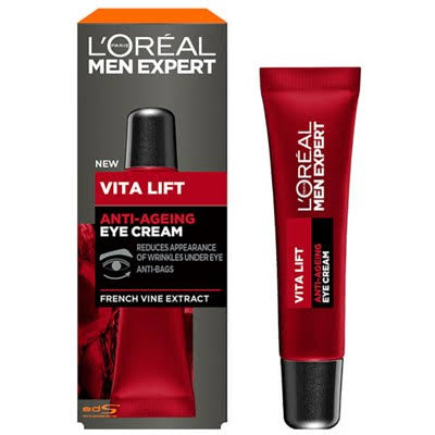 L'Oreal Men Expert Vita Lift Anti Ageing Eye Cream 15ml