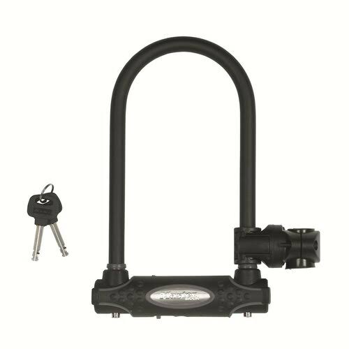 Masterlock High Security U Bar Bicycle Lock - Black